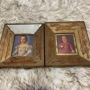 Framed Portraits of De' Medici Children